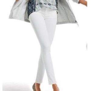 Cabi White Skinny Jeans Style 219